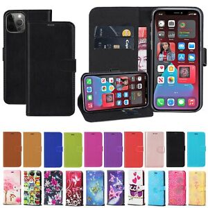 Case For Apple iPhone 12 11 Pro XS Max Mini 8 7 XR SE Leather Flip Wallet Cover
