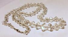 Glass Silver Vintage Costume Jewellery without Theme