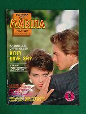 Fotoromanzo MARINA 1986 n.300 , EDWIGE FENECH ANTONELLA CHRIS OLSEN