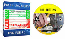 CITY AND GUILDS PAT TEST TESTING COURSE ELECTRICAL DVD DISK FOR PC