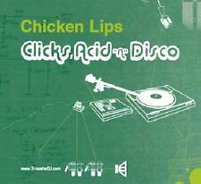 Chicken Lips - Clicks, Acid 'n' Disco CD (Trust The Dj) NEW SEALED