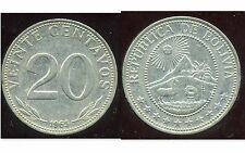 BOLIVIE   20 centavos 1965  ( bis )