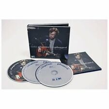 Eric Clapton MTV Unplugged 2 CDs With DVD Deluxe Edition NEW