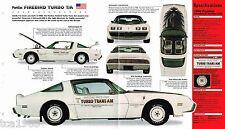 1980 PONTIAC Firebird TURBO TRANS AM SPEC SHEET / Brochure / Flyer, T/A