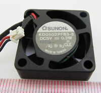1pc SUNON KD0502PFB3-8 5V 0.3W 25x25x10mm 25mm 2510 2pin DC Fan