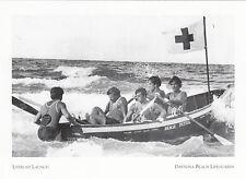 (P013) Postcard - Daytona Beach Lifeguards - Lifeboat Launch (modern card)