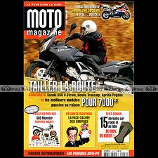 MOTO MAGAZINE N°204 BETA ALP 4.0 HONDA CBR 1000 RR 650 TRANSALP APRILIA PEGASO