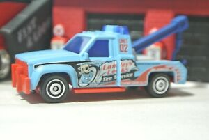 Matchbox GMC Wreaker Tow Truck Blue Loose 1:64 - Lamley's Leaks - Exclusive