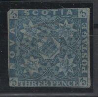 G129726/ NOVA SCOTIA / CANADA / SG # 3 USED SIGNED – CV 195 $