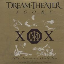 "DREAM THEATER ""SCORE 20TH ANNIVERSARY WORLD TOUR"" 3 CD"