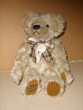 GOLDEN BEAR CO 100TH ANNIV. COLLECTORS EDITION TAN TEDDY BEAR 1902-2002  13 IN