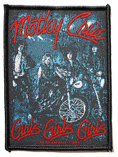 Official Motley Crue - Girls Girls Girls Bikes - Sew On Patch