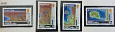 4 X Timbre Stamp Jersey 1982 YT  272 273 274 275 EUROPA CEPT Neufs