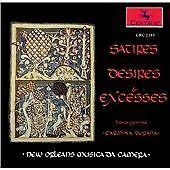 Satires,Desires & Excesses, New Orleans Musica Da Camera, Very Good Import