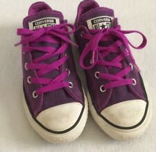 converse niñas all star morado