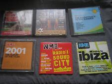 6 NME CDs. Oasis, Radiohead, U2, Fatboy Slim, Badly Drawn Boy, Coldplay, Amen