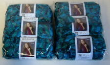 Red Heart Yarn Boutique Ribbon Yarn 6 Balls LAGUNA Lot Sale NEW