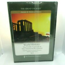 World History: The Fertile Crescent To The American Revolution The Great Courses