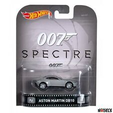 James Bond 007 Spectre ASTON MARTIN DB10 Hot Wheels Die Cast 1/64 New Nuovo