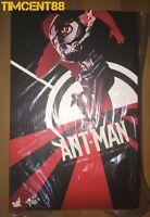 Ready! Hot Toys MMS308 Ant-Man Antman Scott Lang Paul Rudd 1/6 Figure