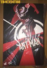 Ready! Hot Toys Ant-Man Antman MMS 308 Scott Lang Paul Rudd 1/6 Figure