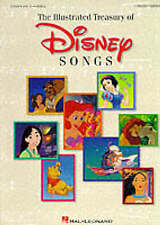 The Illustrated Treasury of Disney Songs by Hal Leonard Publishing Corporation (