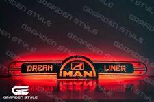 1 stück MAN LKW SPIEGEL LED SCHILD - LKW Rückwand - LED SIGN - L 100cm !