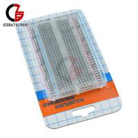 400 Tie Points Solderless Breadboard Durable Mini ABS Plastic Board PCB