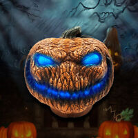 Horrible Pumpkin Light Battery Powered Lamp Halloween Party Pretty Holiday Decor
