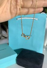 Tiffany & Co. Infinity Double Chain Necklace, 18K Rose Gold
