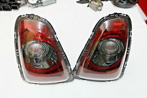 2014 MINI COOPER R56 R57 R58 R59 REAR BLACK LINE RETROFIT SMOKED TAIL LIGHT GEN