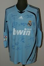 Real Madrid Signed Jersey Casillas No Match Worn 2006/ 2007