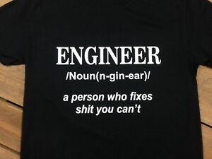 FUNNY T Shirt Mens Funny T Shirts  Retro T Shirt Fancydress Engineer T Shirt