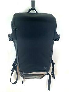 Lululemon More Miles Black Padded Pockets Unisex Large Backpack Carry All Bag