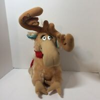 """Dr. Suess 1983 Thidwick the Big Hearted Moose Coleco Plush Stuffed Animal 14"""""""