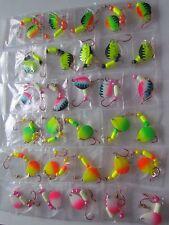 30 Spinner Floater Rigs Leech Minnow Crawler Harness Walleye, Bass, Pike