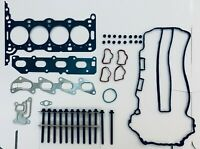 FOR VAUXHALL ASTRA CORSA MERIVA 1.2 1.4 Z12XEP Z14XEP HEAD GASKET SET & BOLTS