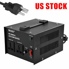 500W Step Up Down 220V to 110V Voltage Converter Transformer Heavy Duty US Stock