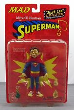 """DC Direct MAD Magazine Series 1 Alfred Neuman Superman Just Us League 6"""" Figure"""