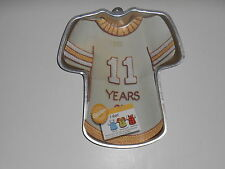 Vintage 1979 Wilton T Shirt Jersey Party CAKE PAN Paper Instructions #502-5617