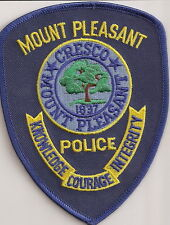 Mount Pleasant Police Patch South Carolina SC