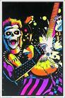 """Skull Rocker Laminated Blacklight Poster - 23.5"""" x 35.5"""""""
