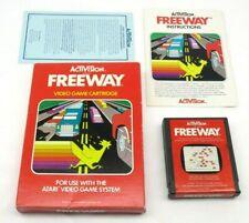 Freeway (Atari 2600, 1981) By Activision (Box, Cartridge & Manual) NTSC