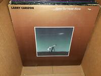 Larry Carlton Alone But Never Alone Vintage Vinyl LP NM-/VG+ Solo Steely Dan