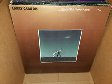 Larry Carlton Alone But Never Alone Vintage Vinyl LP NM-/VG+ Solo Steely Dan