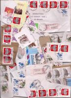 184 POLAND stamps on paper.