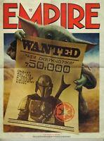 EMPIRE MAGAZINE Star Wars MANDALORIAN April 2020 Subscriber Cover Baby Yoda