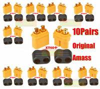 10x Paar Amass XT60 Anschluss mit Scheide Gehäuse Deckel für Lipo Baterrie Esc