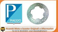 Piaggio 56498R Disco Freno per Moto - Argento