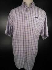 Cool Men's XL Ralph Lauren Chaps Easy Care Pastel Plaid SS Button-Down Shirt GUC